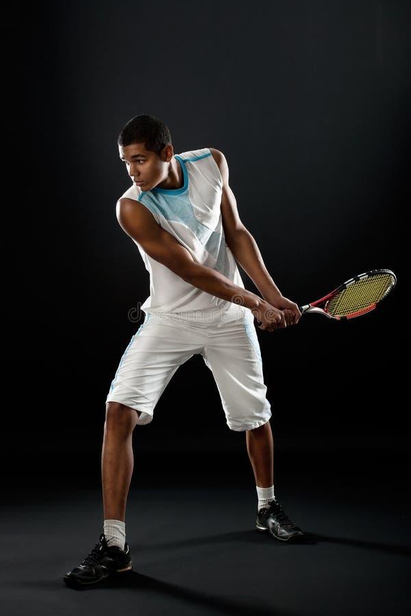 De speler van het tennis royalty-vrije stock foto