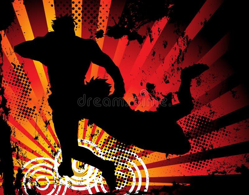 Download De Spelers Van Het Rugby Silhouetteren Royalty-vrije Stock Foto's - Afbeelding: 11626588