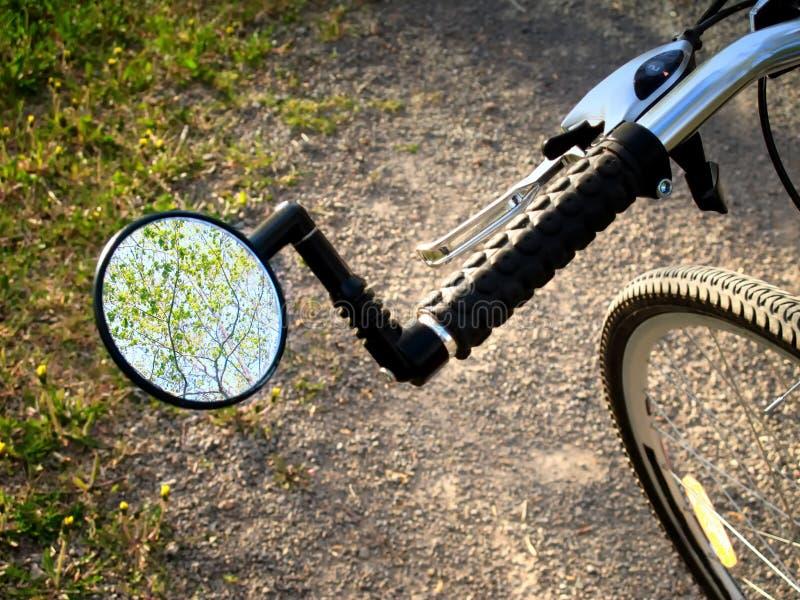 Spiegel Voor Fiets : ≥ fiets stuur spiegel fietsonderdelen marktplaats