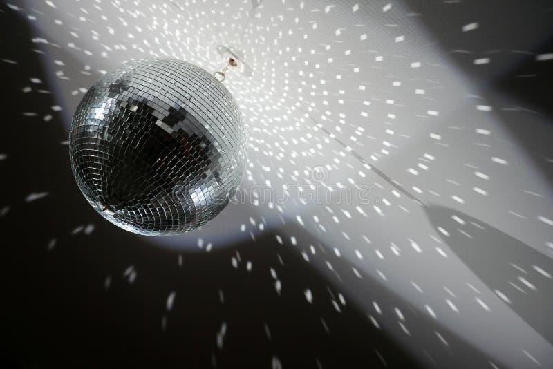 De spiegelgebied van de disco stock afbeeldingen