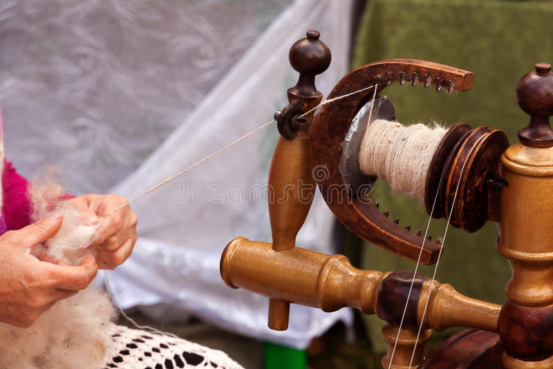 De spinner overhandigt as royalty-vrije stock foto