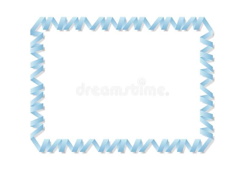 De spiraalvormige grens vector illustratie