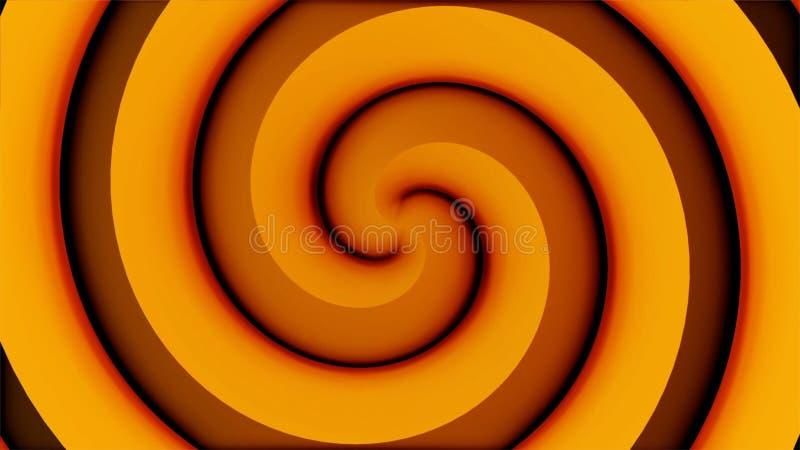 De Spiraalvormige Tunnel van de reisdraaikolk Portaal aan Veelvoudige Afmetingen Het Visuele Effect van het plaats-tijdcontinuum  vector illustratie