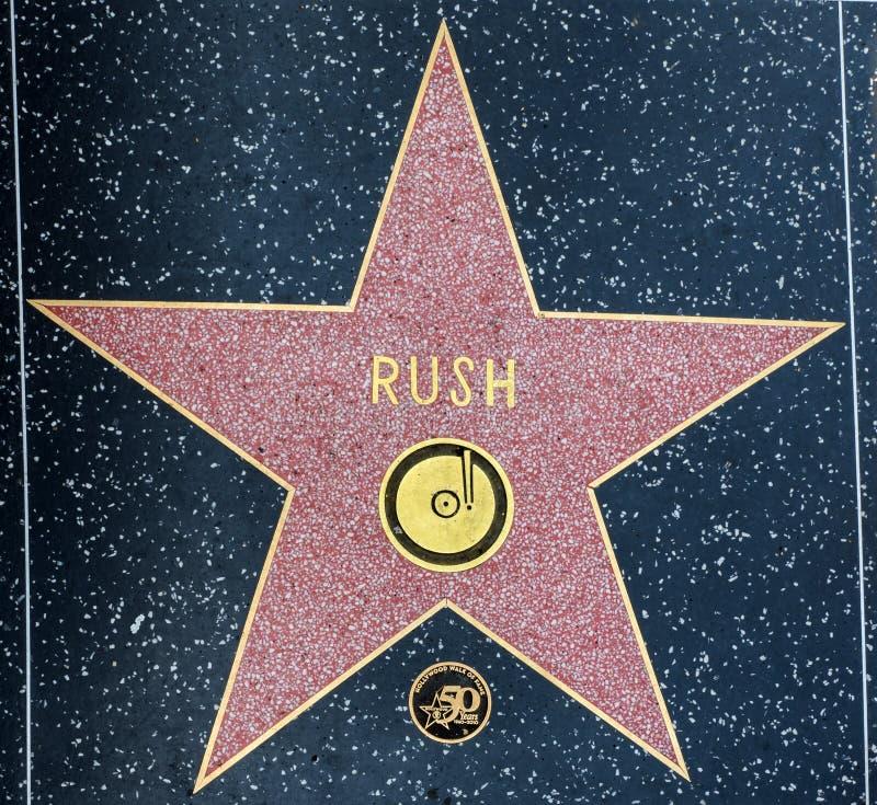 De spoedster van ` s, Hollywood-Gang van Bekendheid - 11 Augustus, 2017 - Hollywood-Boulevard, Los Angeles, Californië, CA stock foto