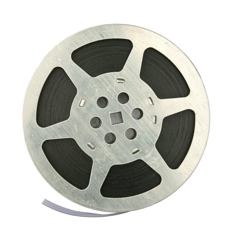 De spoel van de film stock afbeelding
