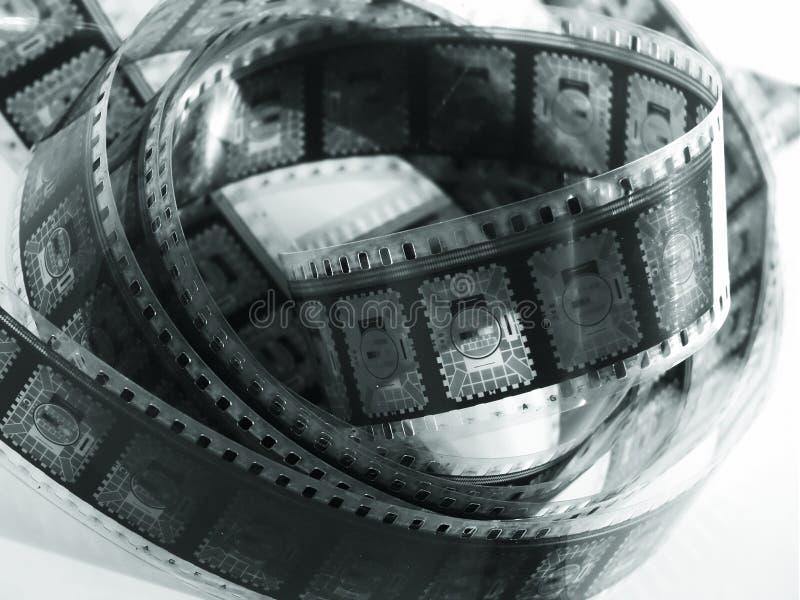 De Spoel Van De Film Stock Afbeeldingen