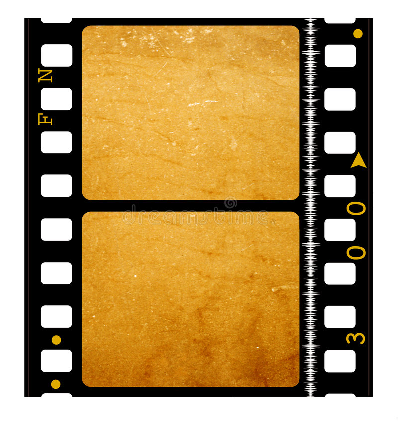 de spoel van de Film van de 35 mmfilm vector illustratie