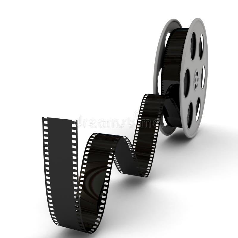 De Spoel van de Film van de film stock illustratie