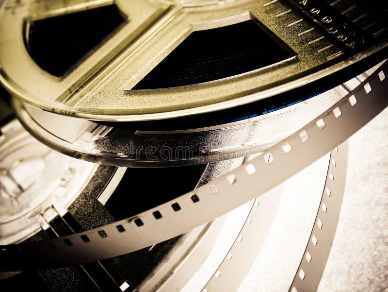 De spoelen van de film royalty-vrije stock fotografie