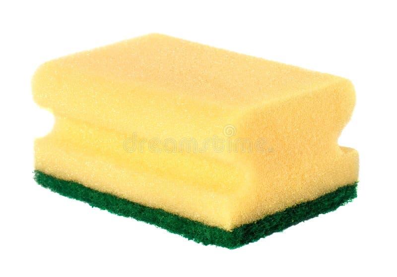 De spons van de keuken royalty-vrije stock afbeelding