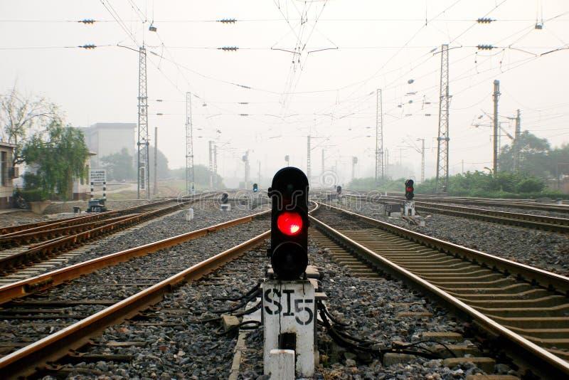 De Spoorweg van China stock foto's