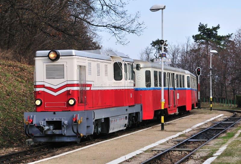De Spoorweg van kinderen, Boedapest royalty-vrije stock foto