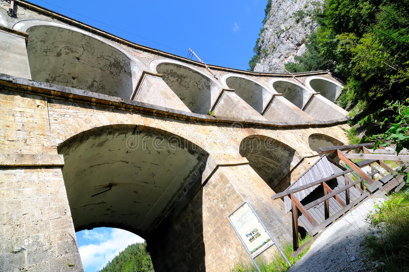 De spoorweg van Semmering no.1 royalty-vrije stock foto's