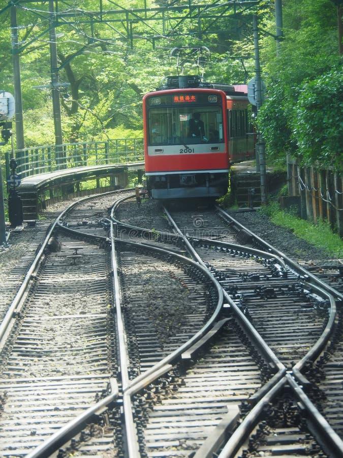 De Spoorwegsysteem van Japan ` s royalty-vrije stock afbeeldingen
