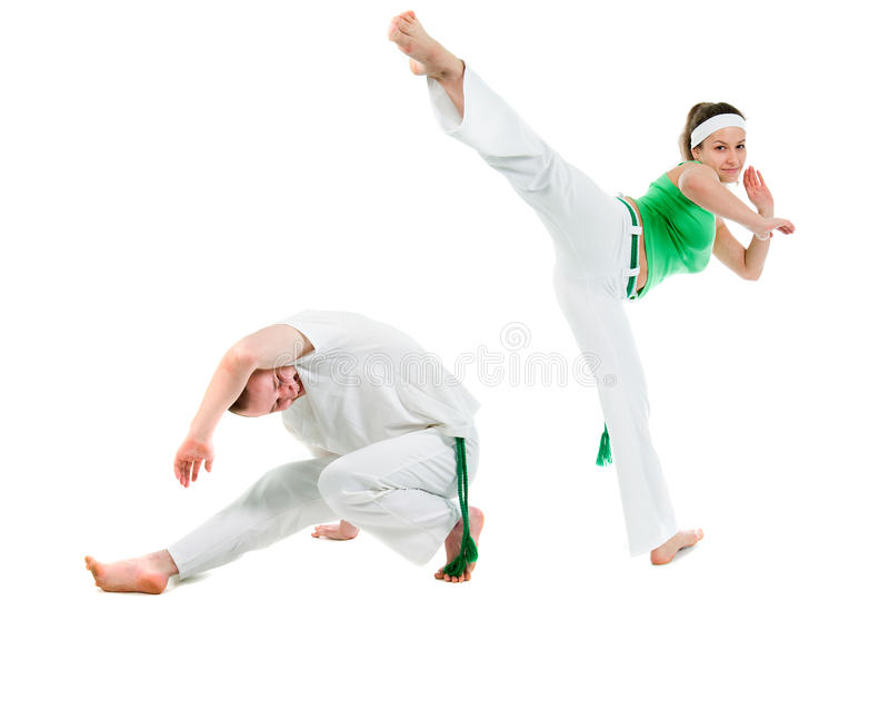 De Sport van het contact. Capoeira. royalty-vrije stock foto's