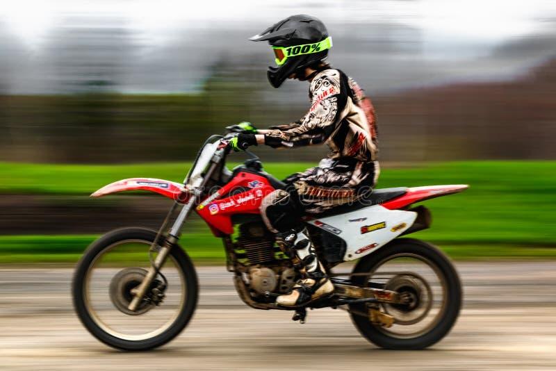 De sport van het motorras royalty-vrije stock afbeeldingen