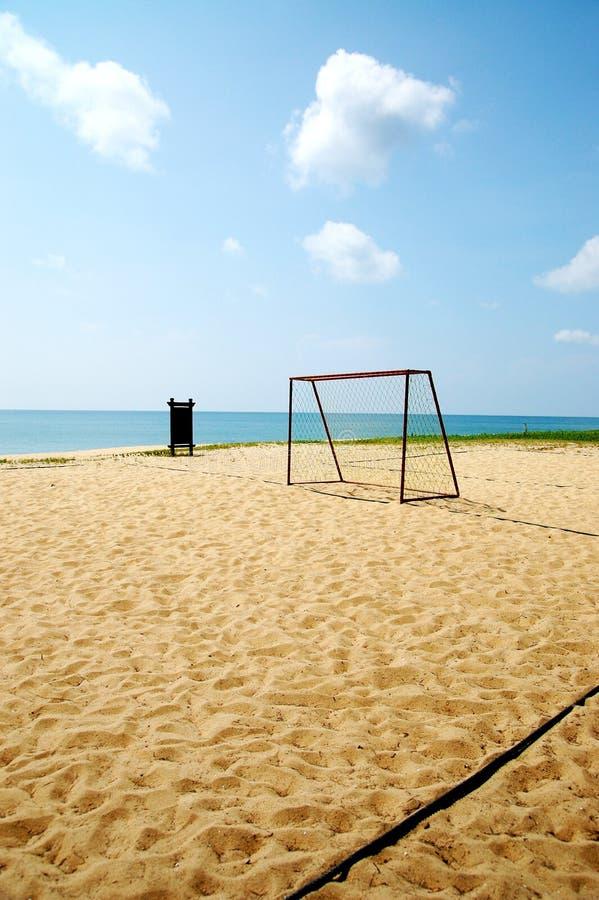 De sport van het strand stock fotografie