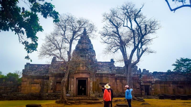 De Sport van Hin Khao Phanom van Prasat royalty-vrije stock fotografie
