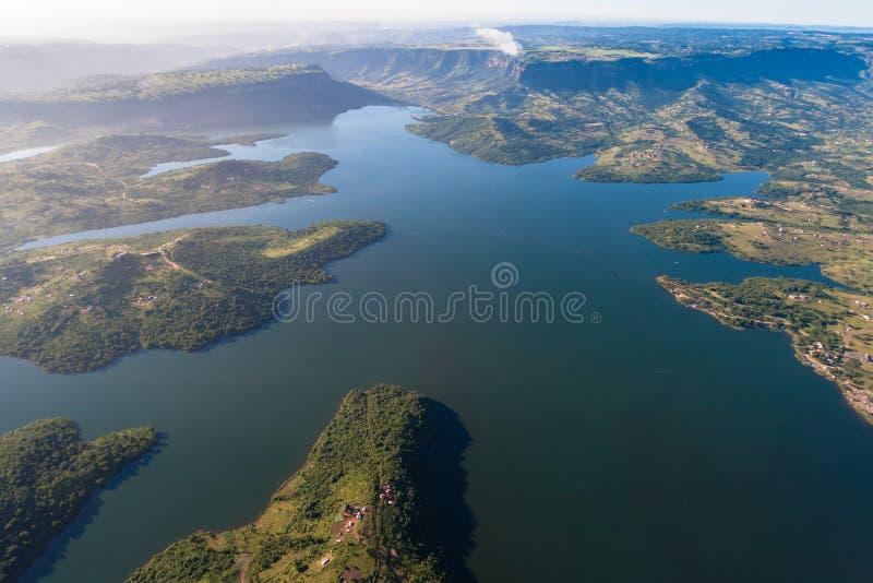 De Sporten van het Water van de Dam van de lucht   stock fotografie