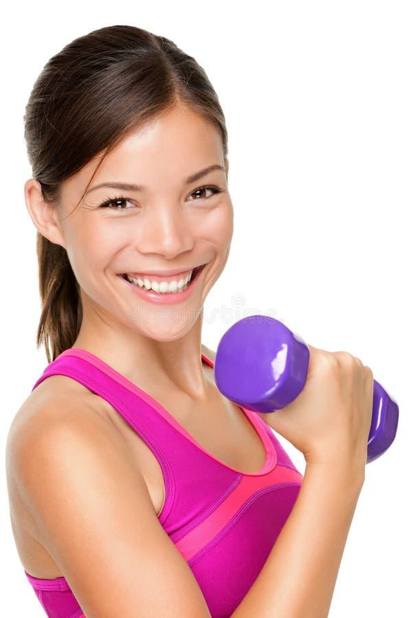 De sportmeisje van de fitness royalty-vrije stock foto