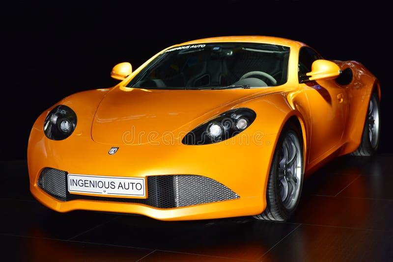 De sportwagen van Artega GT royalty-vrije stock afbeelding