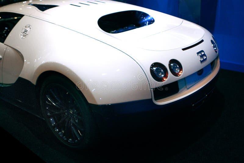 De sportwagen van Bugatti Veyron stock foto's