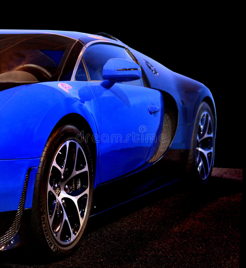De sportwagen van Bugatti Veyron royalty-vrije stock foto
