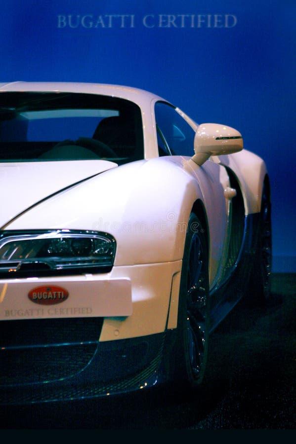 De sportwagen van Bugatti Veyron royalty-vrije stock fotografie