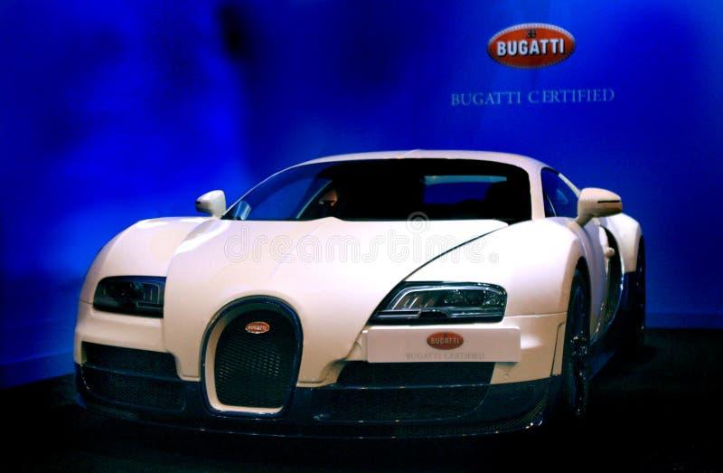 De sportwagen van Bugatti Veyron stock afbeeldingen
