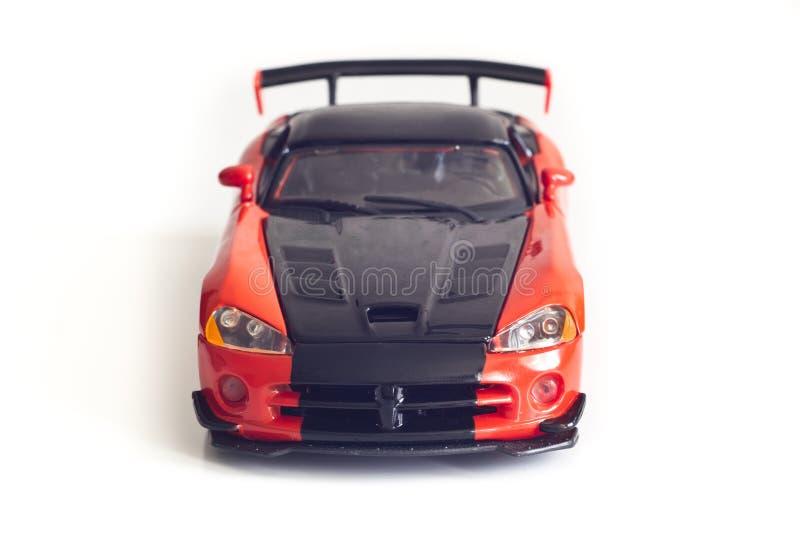 Download De Sportwagen Van Het Stuk Speelgoed Stock Foto - Afbeelding bestaande uit auto, rood: 29500346