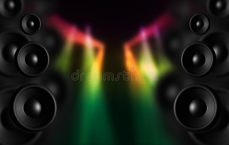 De Sprekers van de disco vector illustratie