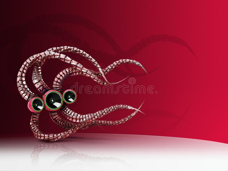 De Sprekers van de spin stock illustratie