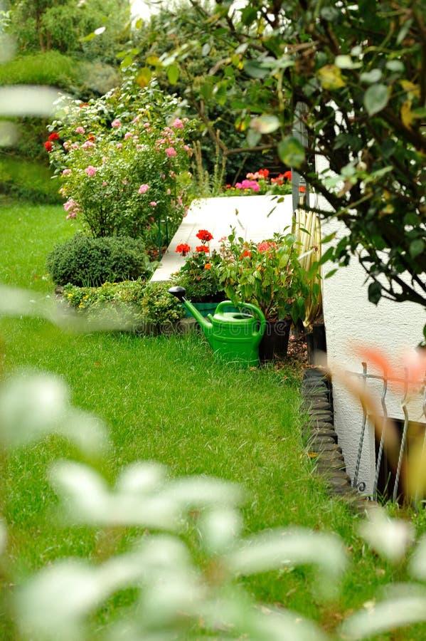 De sproeier van de tuin royalty-vrije stock afbeeldingen