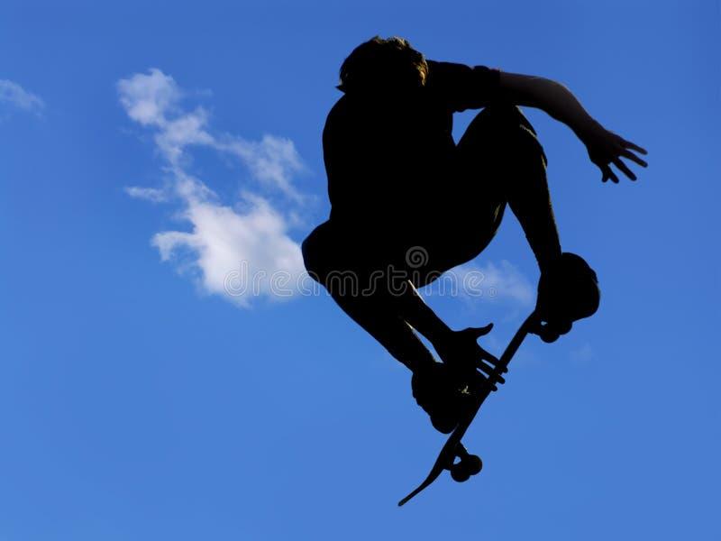 De sprong van het skateboard #4 stock foto