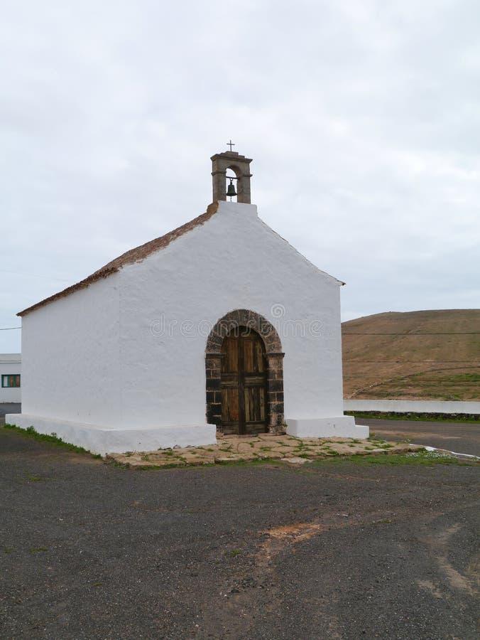 Download De Sprookjekerk Van La Caldereta Op Fuerteventura Stock Foto - Afbeelding bestaande uit landschap, toerisme: 54087488