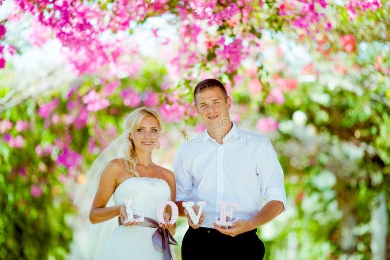 De spruit van de huwelijksfoto stock foto