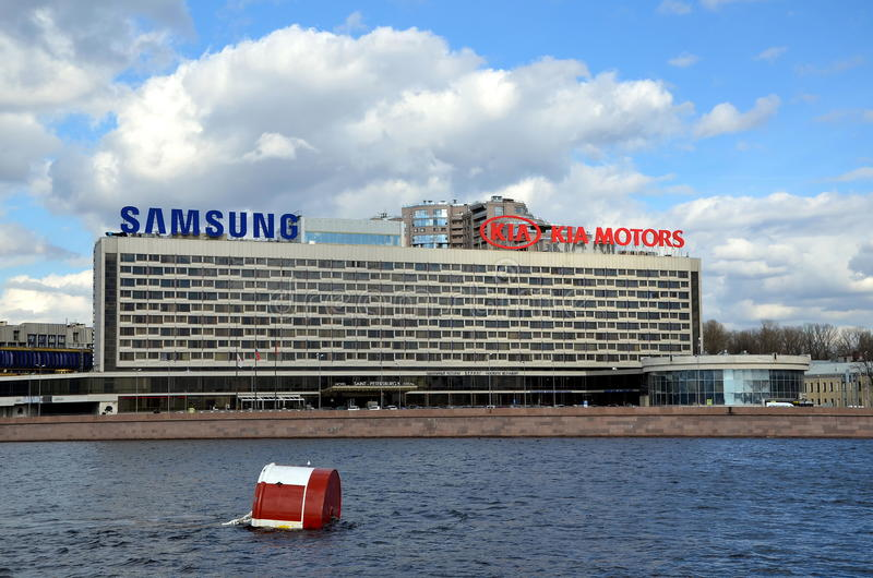 ` de St Petersburg de ` d'hôtel photos stock
