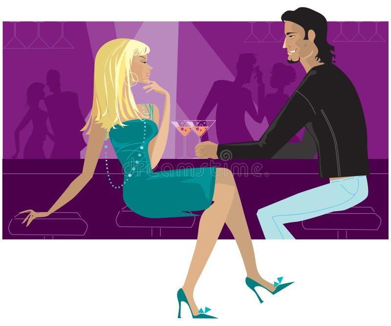 De staaf van de cocktail vector illustratie