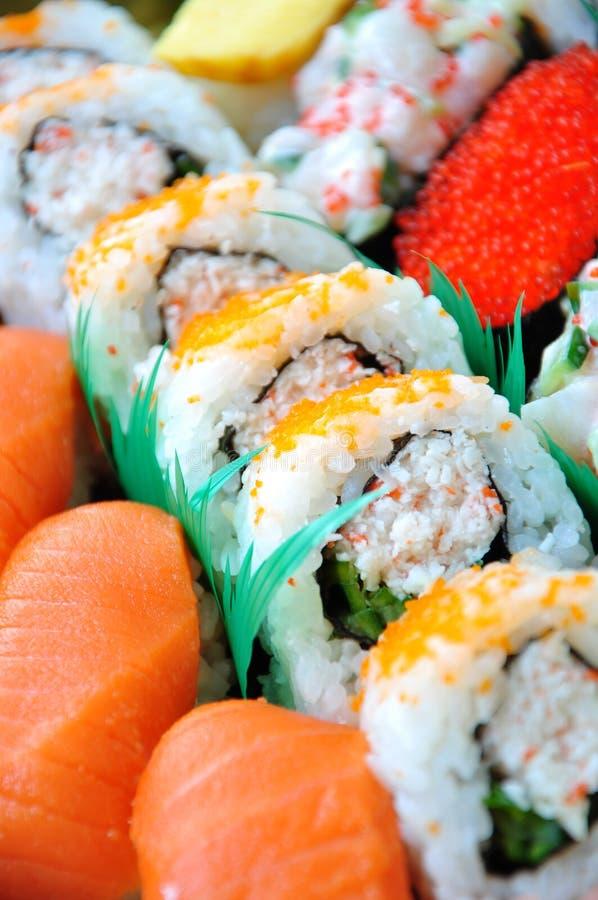 De staaf van sushi stock fotografie