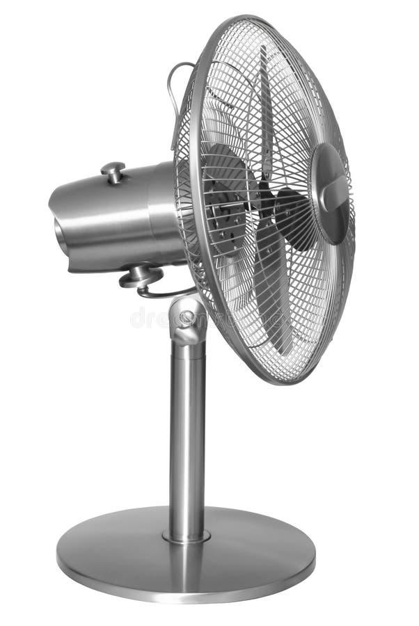 De staal moderne ventilator stock fotografie