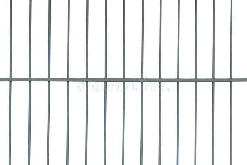 De staalkooi isoleert op witte achtergrond vector illustratie