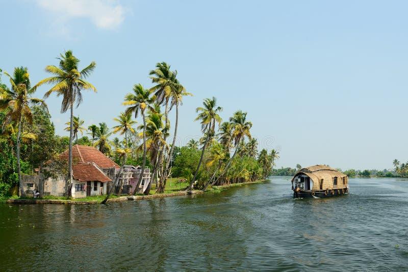 De staat van Kerala in India royalty-vrije stock afbeeldingen