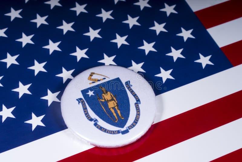 De Staat van Massachusetts in de V.S. stock fotografie