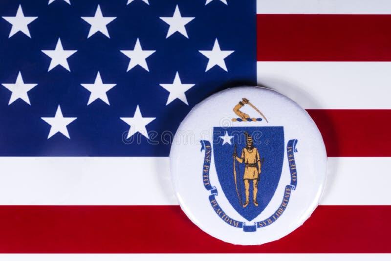 De Staat van Massachusetts in de V.S. royalty-vrije stock afbeeldingen