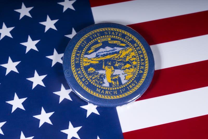 De Staat van Nebraska in de V.S. stock foto