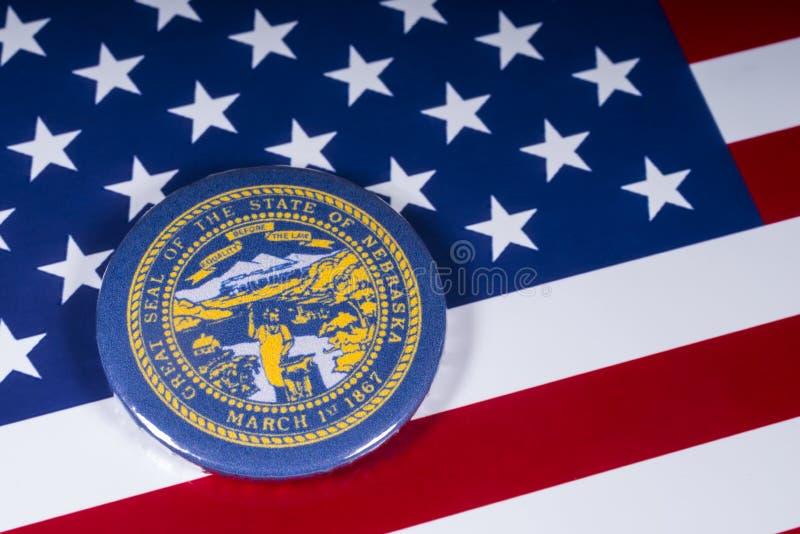De Staat van Nebraska in de V.S. stock foto's