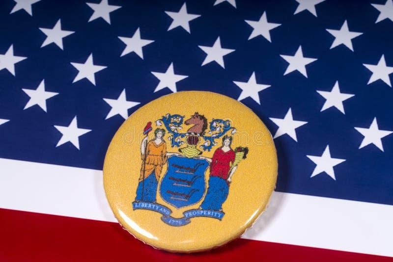 De Staat van New Jersey in de V.S. stock afbeeldingen