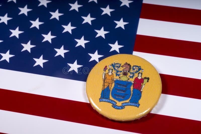 De Staat van New Jersey in de V.S. royalty-vrije stock fotografie