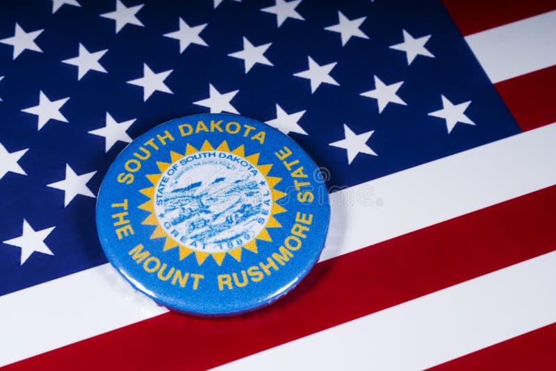 De Staat van Zuid-Dakota in de V.S. royalty-vrije stock foto's
