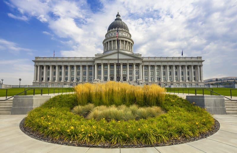 De staatscapitol van Utah stock foto's